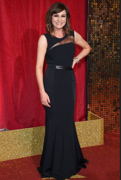 Lucy Pargeter at British Soap Awards 2016 (Credit: WENN)