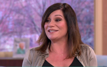 Lucy Pargeter pregnant on This Morning (Credit: WENN)