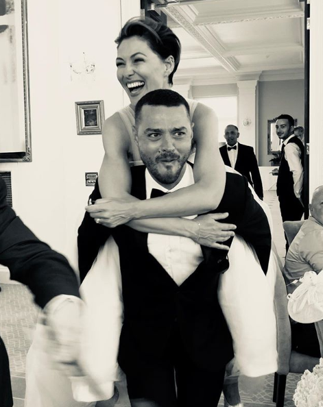 emma-and-matt willis at wedding vow renewal party