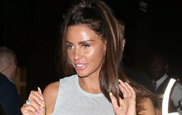Katie Price And Kris Boyson Leave Shooshh Club In London