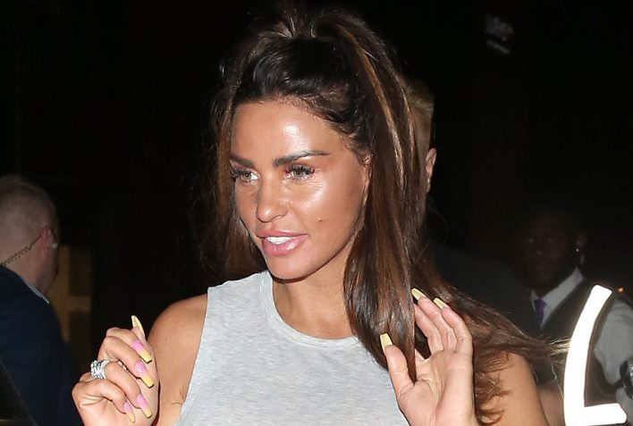 """Fans slam Katie Price's """"tacky"""" PDA pic with new man"""