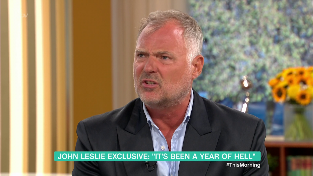 john-leslie on This Morning