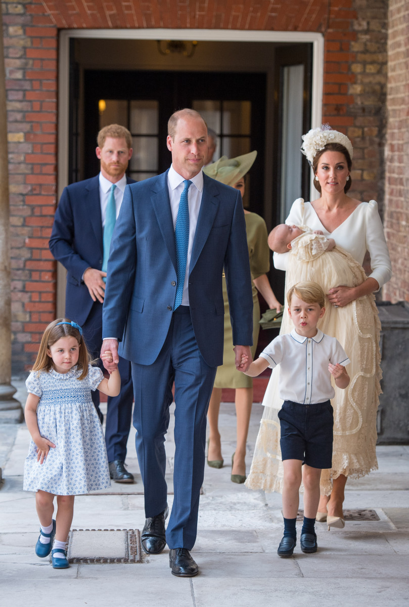 The Duke and Duchess of Cambridge, Princess Charlotte, Prince Louis and Prince George