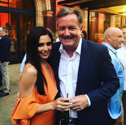 Piers Morgan and Cheryl at Syco Summer Party, 9 July 2018