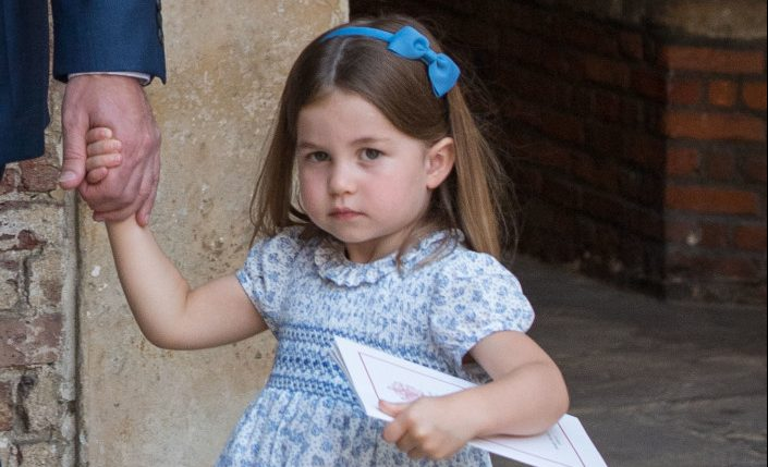 "Princess Charlotte tells photographers they're ""not coming"" to brother's party"