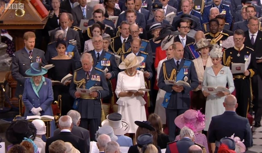 The royals at RAF centenary