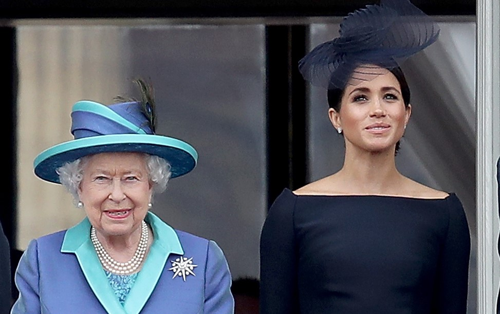 Meghan, Duchess of Sussex joins The Queen for second balcony appearance
