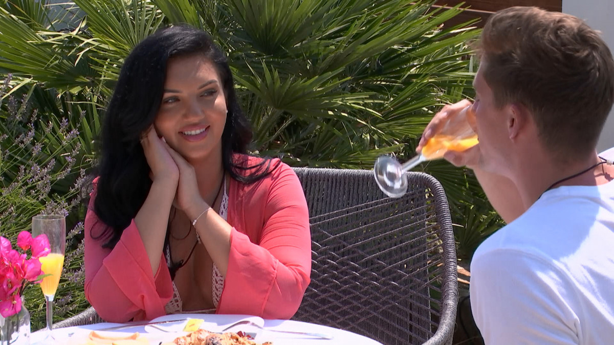 Love Island's Alexandra on a date with Alex