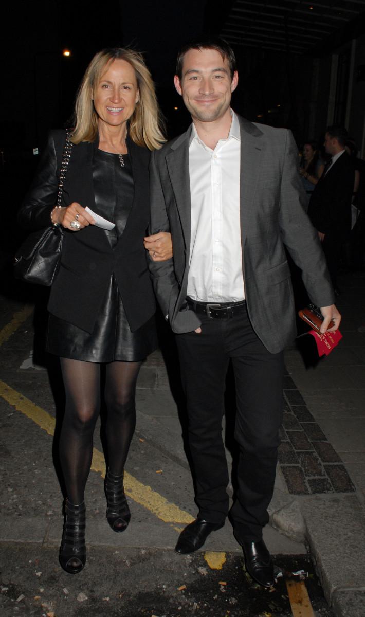 Carol McGiffin and fiance Mark Cassidy