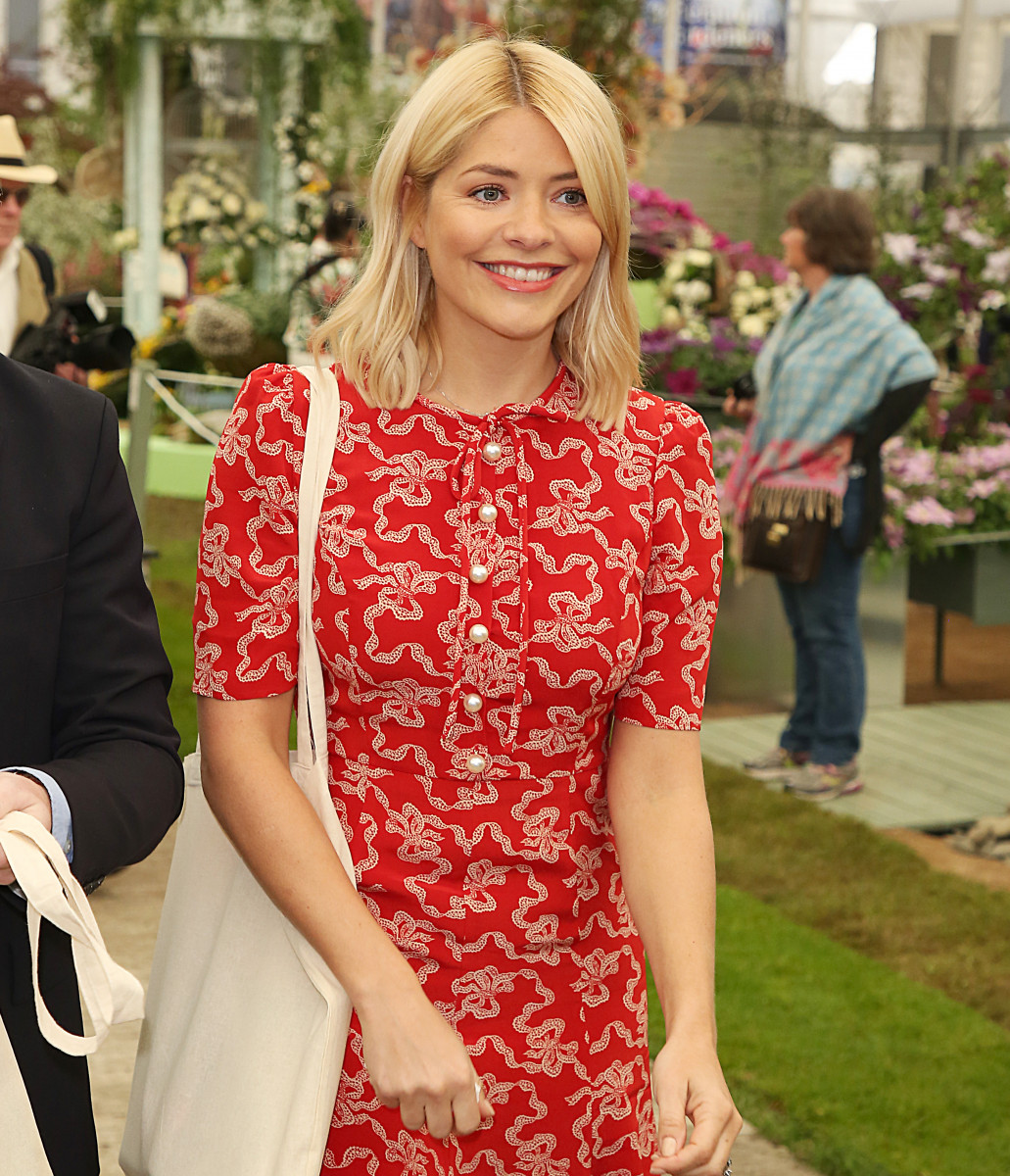 Holly Willoughby, The RHS Chelsea Flower Show 2018 - Press Day, London UK, 21 May 2018