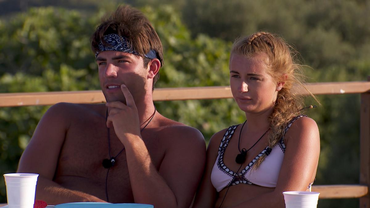 Love Island's Jack and Dani