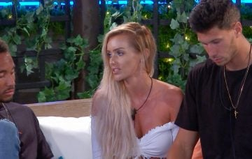 Love Island's Laura and Jack