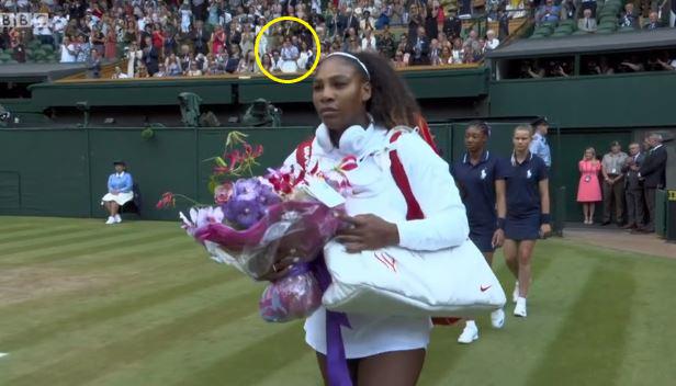 Meghan, Duchess of Sussex, at Wimbledon