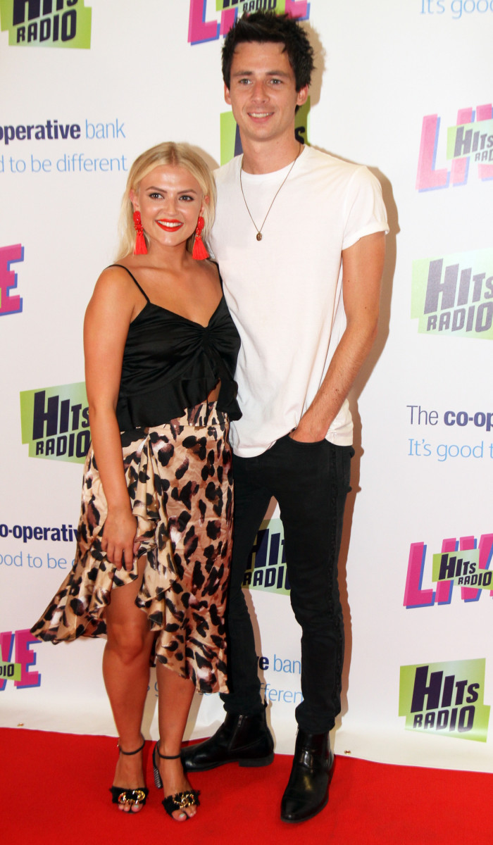 Lucy Fallon Enjoys Night Out With Boyfriend Entertainment Daily