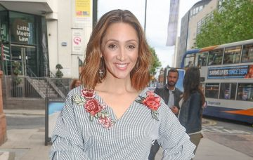 Lucy-Jo Hudson, Guests Arrive At Adobe Hotel Party In Manchester