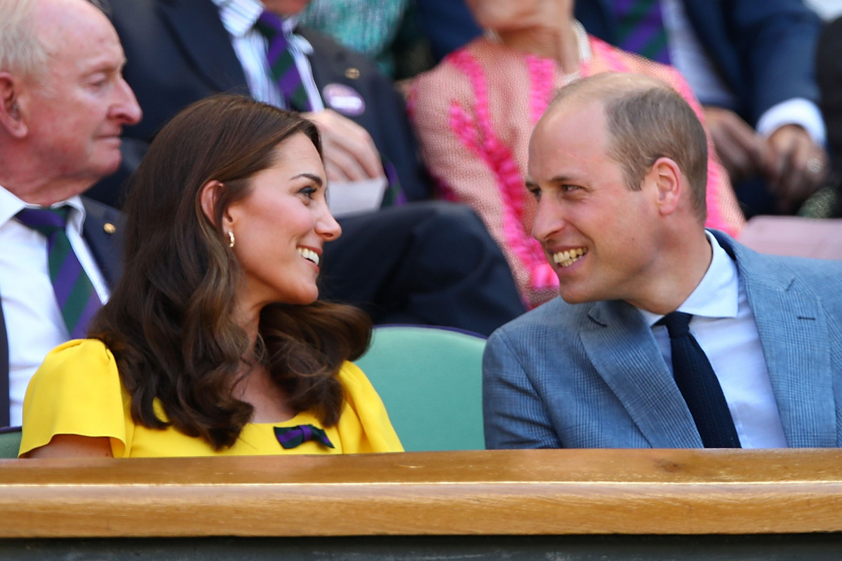Duke and Duchess of Cambridge attend Wimbledon together