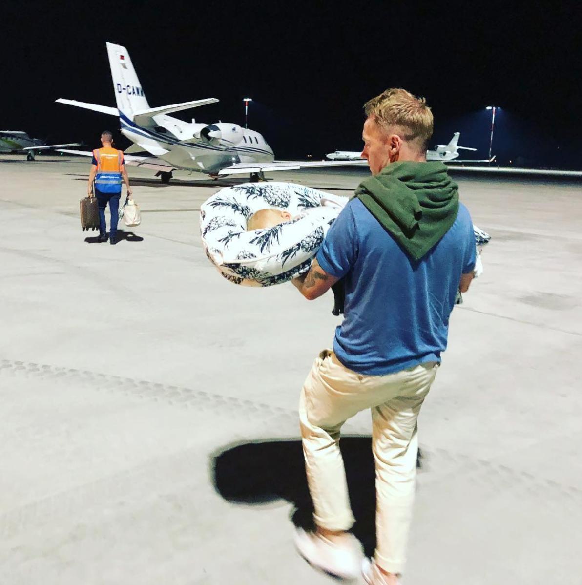 Ronan Keating Storm Keating Instagram