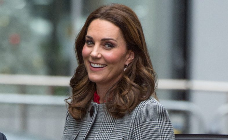Prince Louis smiles in adorable new photo with Duchess of Cambridge