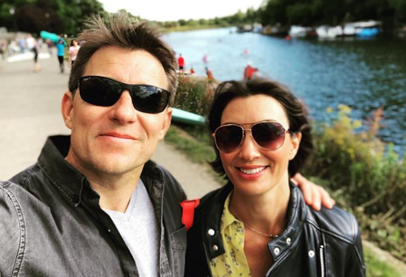 Ben Shephard pokes fun at wife Annie's outfit in sweet photo