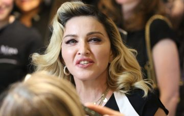 Madonna launches her skincare line, MDNA In NYC