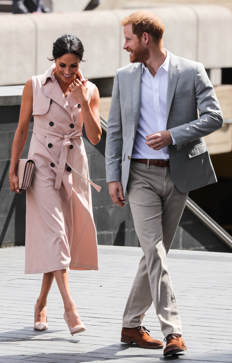 The Duke and Duchess of Sussex visit the launch of the Nelson Mandela Centenary Exhibition at the Queen Elizabeth Hall, Southbank Centre