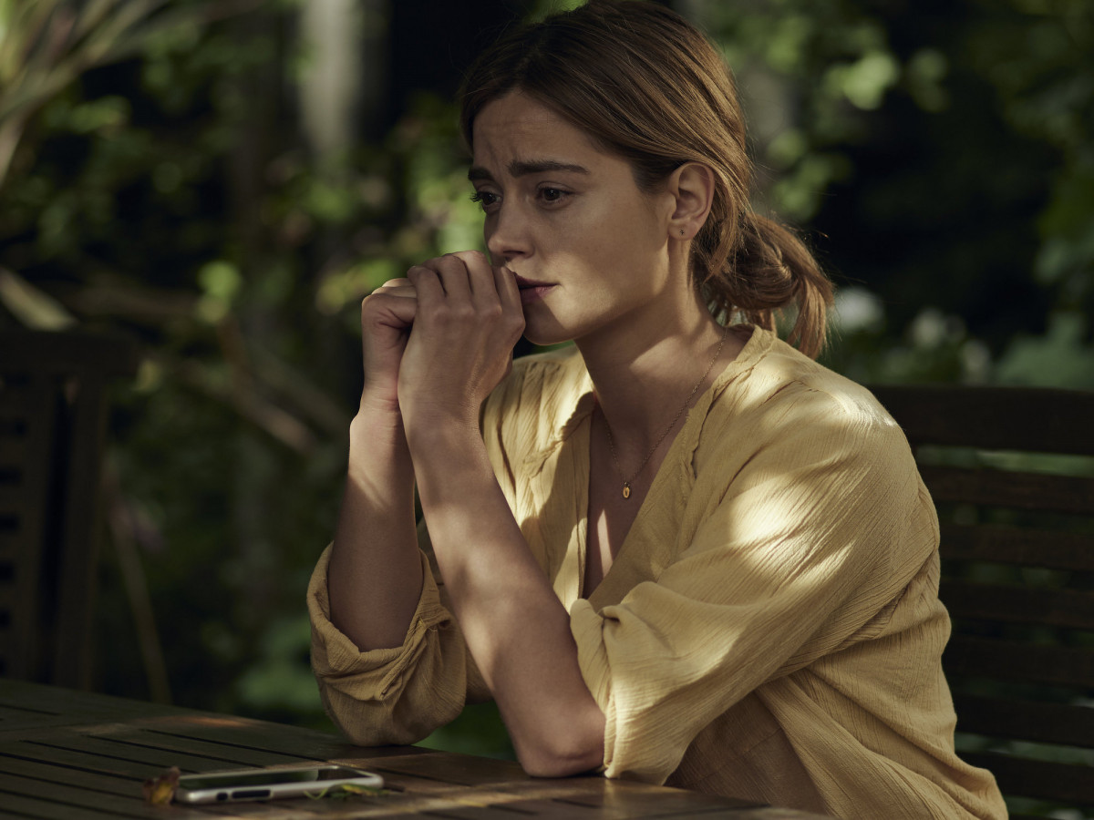 Jenna Coleman as Joanna in The Cry