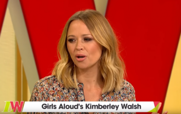 kimberley-walsh on Loose Women