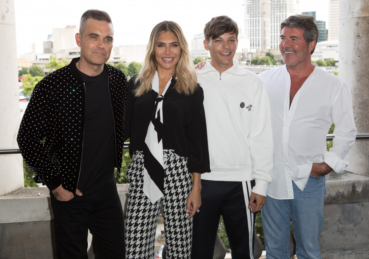 X Factor 2018 judges: Robbie Williams,Ayda Field,Louis Tomlinson,Simon Cowell