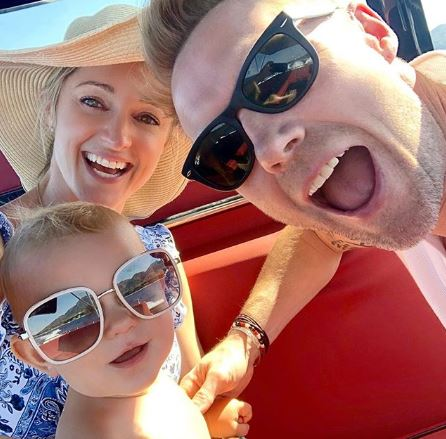 Ronan and Storm Keating enjoy holiday with son Cooper