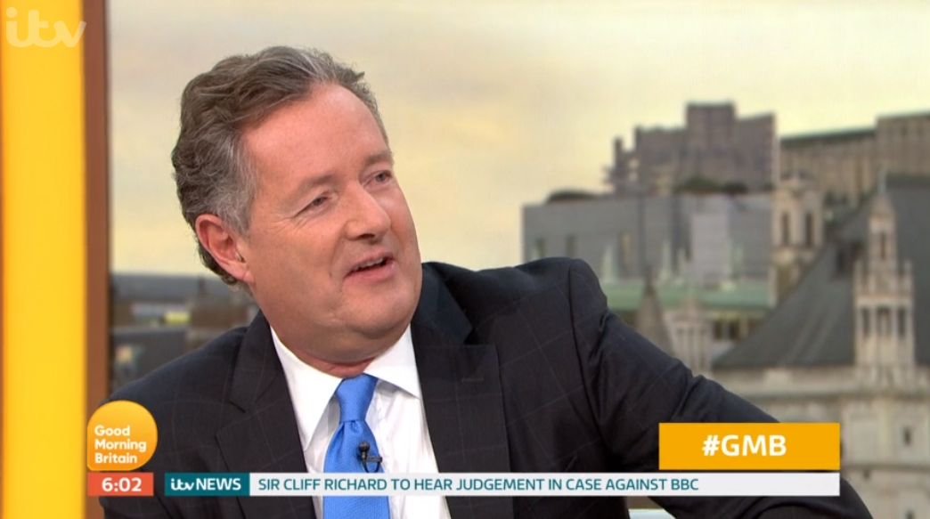 Piers Morgan jokes he won't return to GMB as he starts summer break