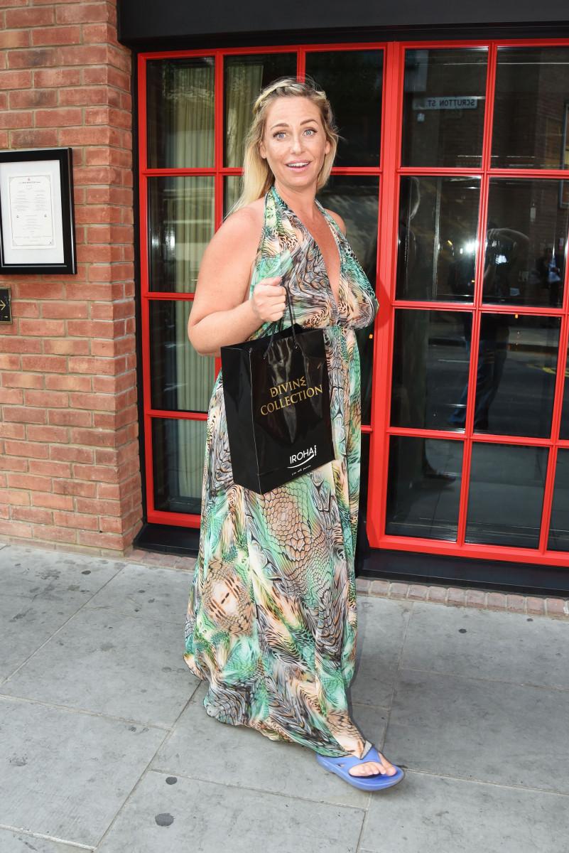 Josie Gibson, Stars Attend Vicky Pattinsons Iroha Beauty Launch In London