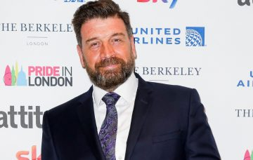 Nick Knowles attends the Attitude Pride Awards 2018 at The Berkeley Hotel on July 6, 2018 in London