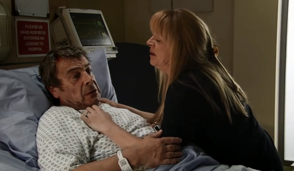 Coronation Street fans terrified that Johnny Connor has died