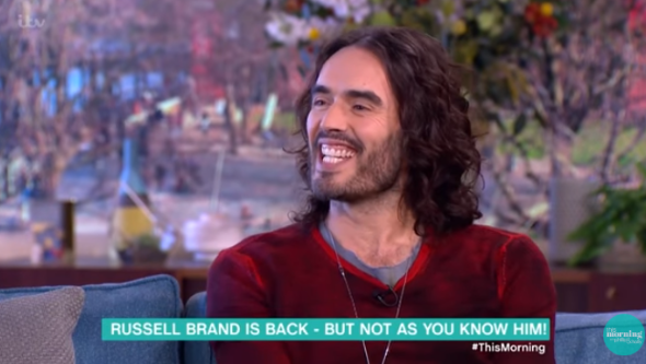 Russell Brand reportedly welcomes second baby