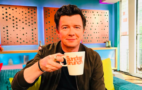 Rick Astley on Sunday Brunch