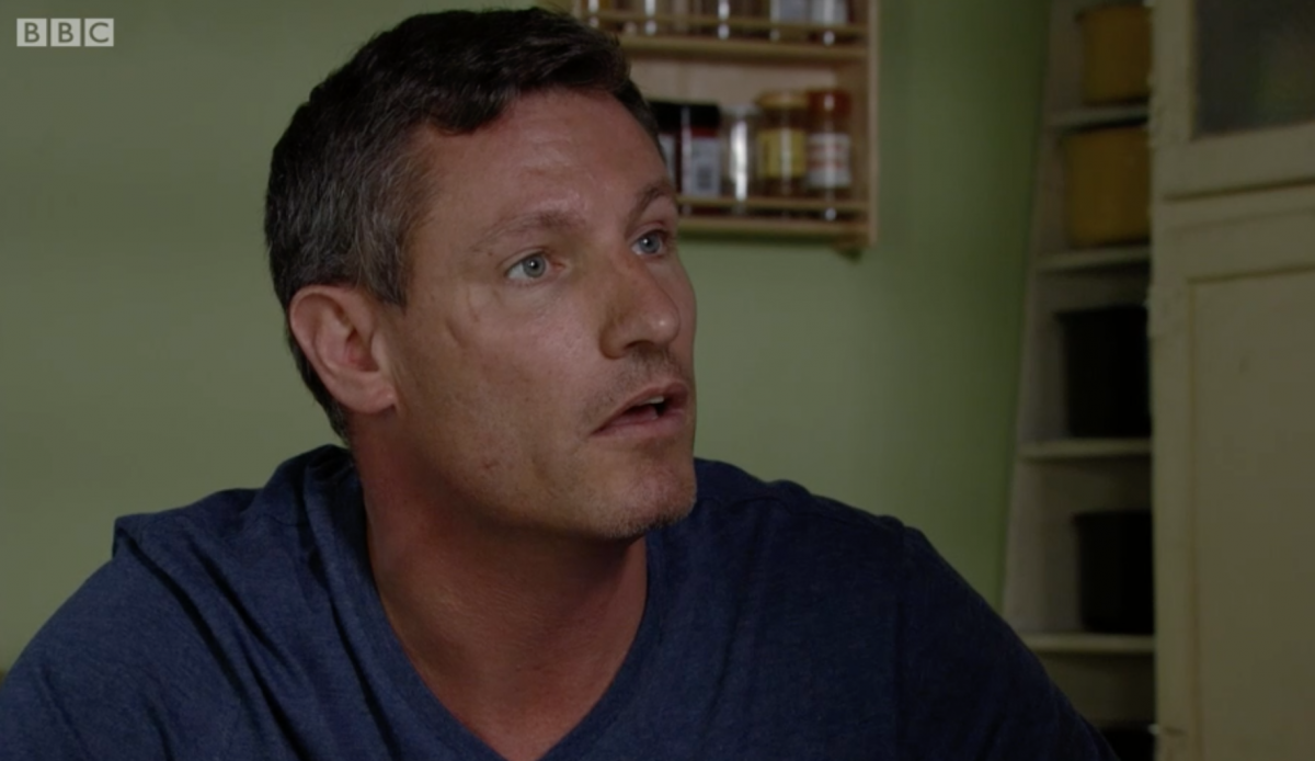 EastEnders' Dean Gaffney used to keep a chipolata in his pocket on set