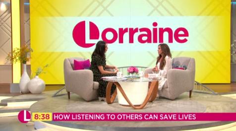 michelle heaton on Lorraine (Credit: ITV)