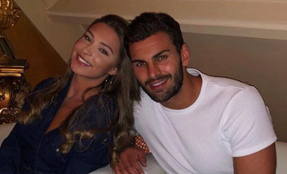 Love Island's Adam Collard gets a Zara McDermott tattoo!