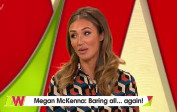 Megan McKenna on Loose Women (Credit: ITV)