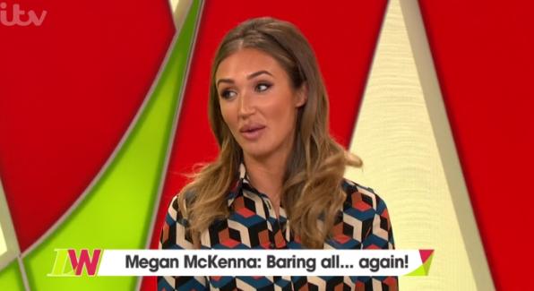 "Megan McKenna hits out over being ""skinny-shamed"""