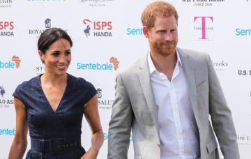 Prince Harry plays in the Sentebale ISPS Handa Polo Cup at the Royal County of Berkshire Polo Club