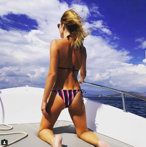 amanda holden family holiday bikini instagram