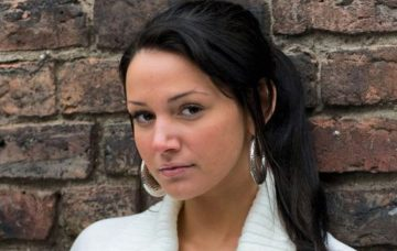 Tina in Coronation Street