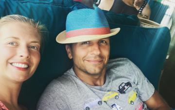 Rachel Riley Pasha Kovalev Instagram