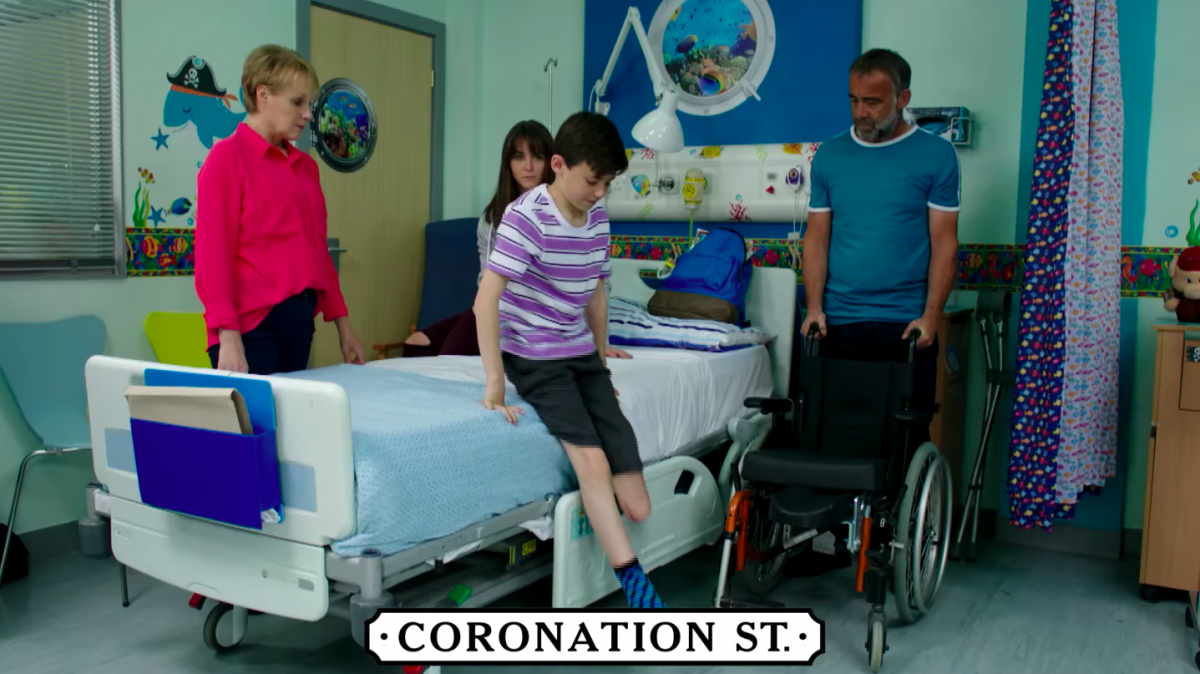 Coronation Street stuns fans with reveal of how they filmed Jack Webster's amputation with Hollywood style CGI