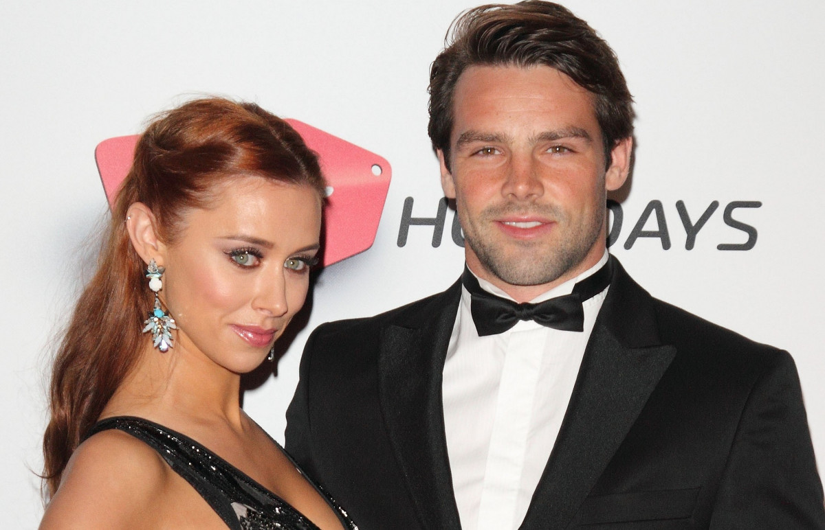 Una Healy and Ben Foden at the Attitude Magazine Awards 2013