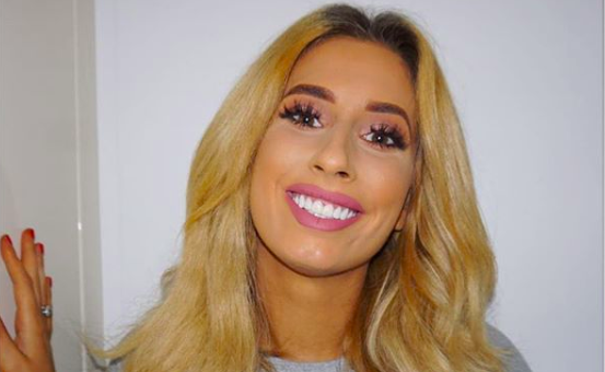 Stacey Solomon shares adorable bed snap with Joe Swash