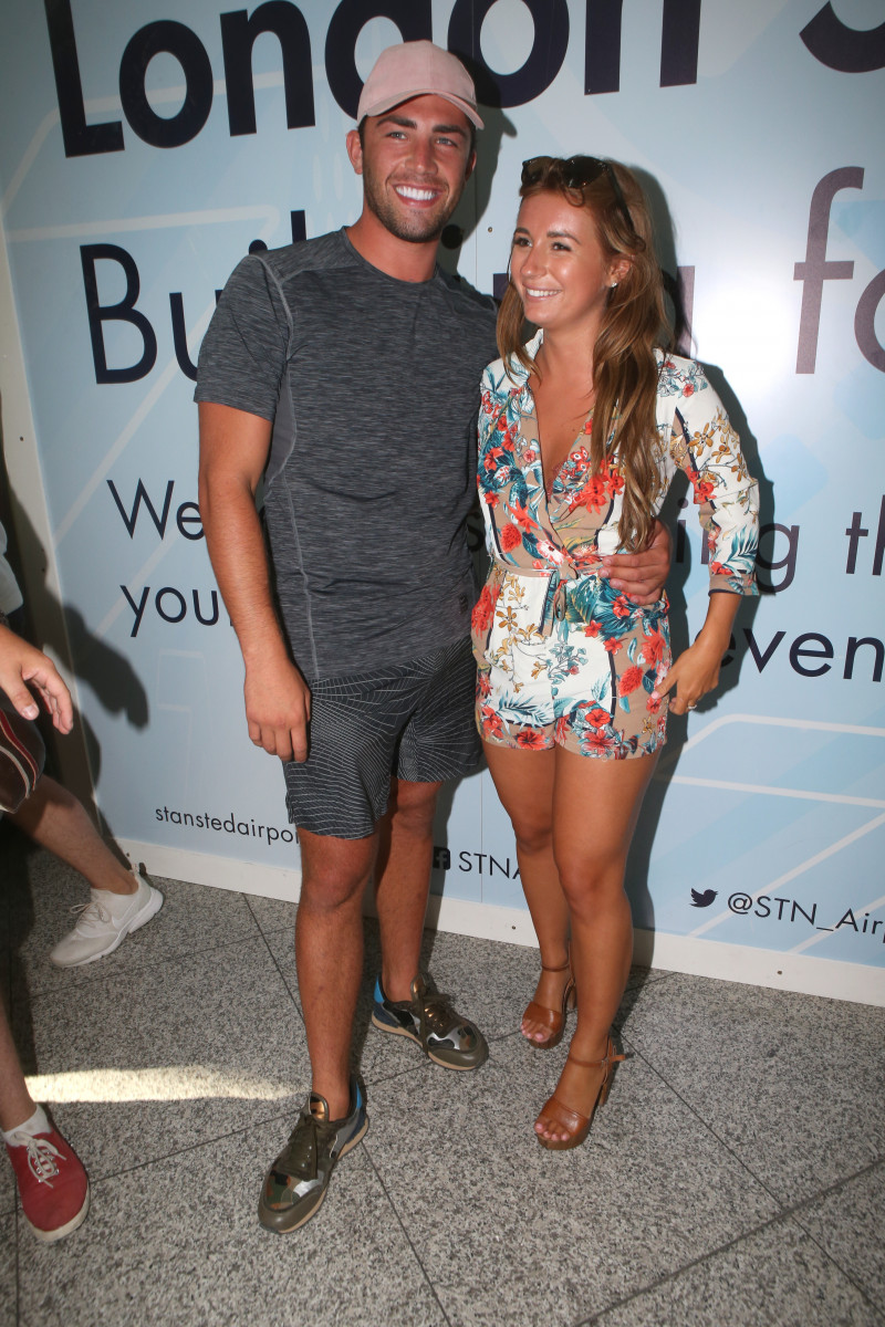'Love Island 2018' contestants arrive at London Stansted Airport