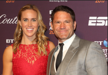 Steve Backshall and Helen Glover finally decide on a name for their week-old son