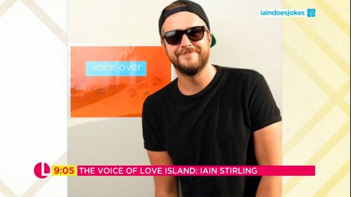 iain stirling love island lorraine itv